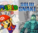 (1)Mario vs (1)Solid Snake 2005