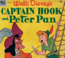 Walt Disney's Captain Hook and Peter Pan