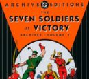 Seven Soldiers of Victory Archives/Covers