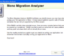 Using Mono Migration Analysis