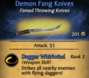 Demon Fang Knives