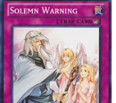 Solemn Warning