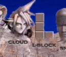 Link vs Cloud Strife vs L-Block vs Solid Snake 2007