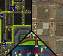 Pedestrians Shown on Map