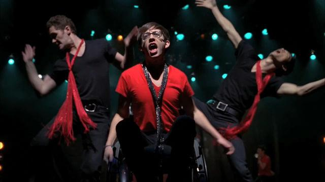 Glee Cast - Moves Like Jagger Jumpin' Jack Flash Peformance