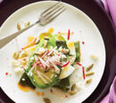 Spicy Avocado Poblano Salad