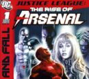 Justice League: The Rise of Arsenal/Covers