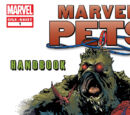Marvel Pets Handbook Vol 1 1