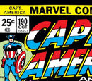 Captain America Vol 1 190