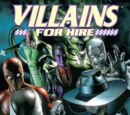 Villains for Hire Vol 1 1