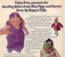 Muppet Show Plush Dress-Up Dolls (Fisher Price)