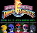 Mighty Morphin Power Rangers (SNES)