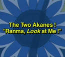 "The Two Akanes! ""Ranma, Look at Me!"""