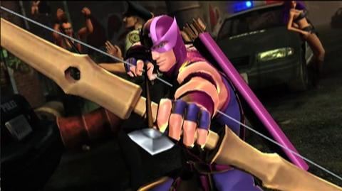 Ultimate Marvel vs. Capcom 3 (VG) () - Hawkeye Character Vignette