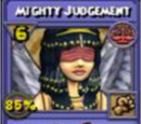 Mighty Judgement Item Card