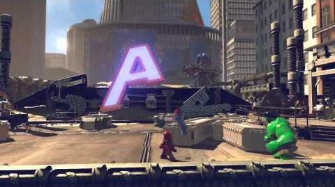 Lego Marvel Super Heroes Xbox 360 Gameplay