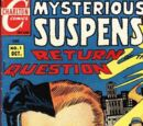 Mysterious Suspense/Covers