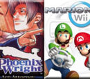 (5)Phoenix Wright: Ace Attorney vs (12)Mario Kart Wii 2010