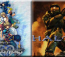 (6)Kingdom Hearts II vs (11)Halo 2 2010