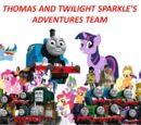 Thomas and Twilight Sparkle's Adventures Team