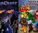 (16)Starcraft vs (2)Super Smash Bros. Melee 2004