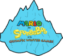 Mario and SpongeBob at the Olympic Winter Games