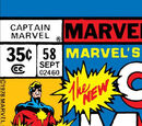 Captain Marvel Vol 1 58