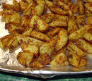 Masala Potato Wedges