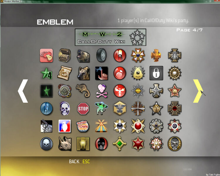 Modern Warfare 2 Emblems 04