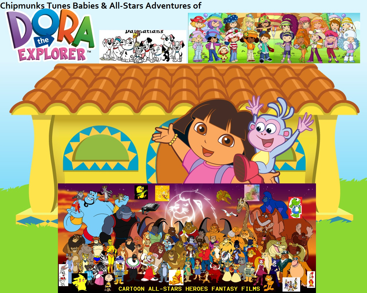 Dora 2 22 Egg Hunt Adventure TVRip 640x480 Heb Dub