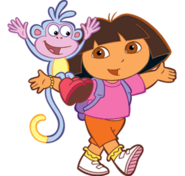 Dora+the+explorer+clipart