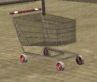 El carrito de compras.