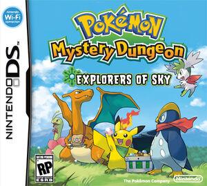 Pokémon Mundo Misterioso Exploradores del Cielo 300px-Pokemon_Mystery_Dungeon_Explorers_of_Sky_BoxArt