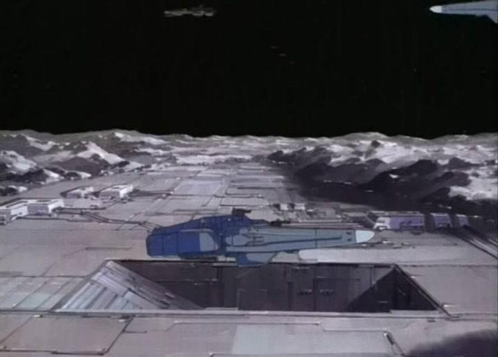 Cratère Ptolémée, QG Lunaire