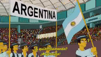 referencias simpsons argentina