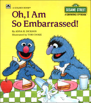 Grover Is A Clumsy Idiot