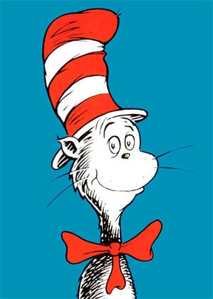 http://images3.wikia.nocookie.net/seuss/images/thumb/f/f2/Catinthehat.jpg/300px-Catinthehat.jpg
