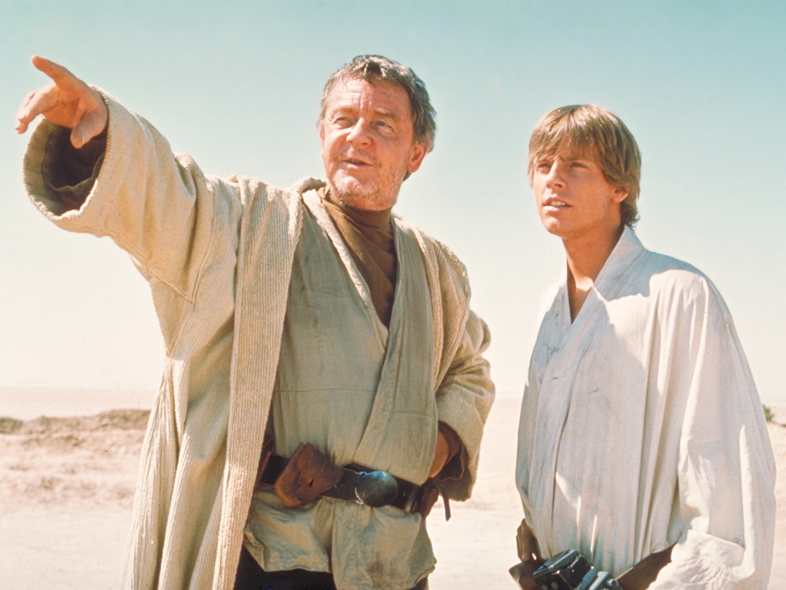 Why Dont Any Jedi Knights Wear White Robes Instead Of Brown Page 5 Jedi Council Forums