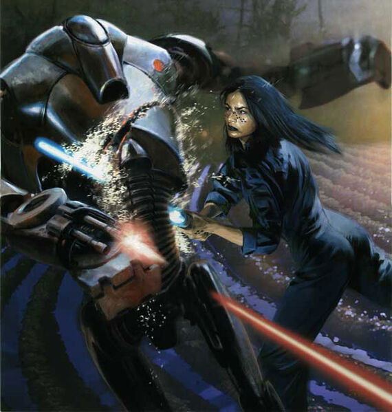 Jedi Knight Barriss Offee played a crucial role in the Medstar novels