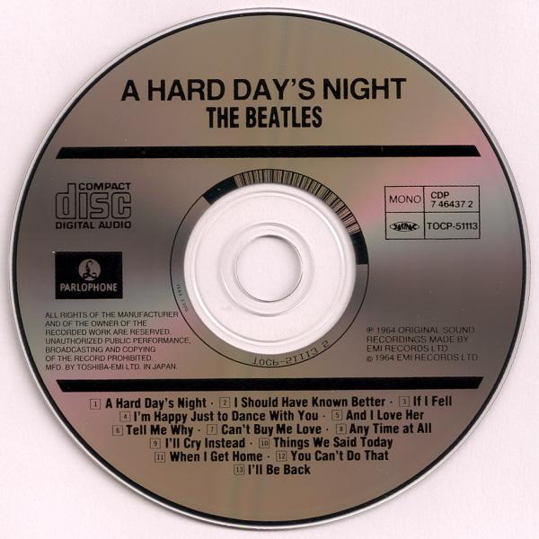 d553344ba A Hard Day's Night (Album) | The Beatles Collectors Wiki | FANDOM ...