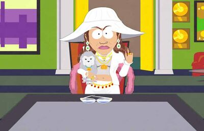 South Park Jennifer Lopez on Jennifer Lopez  South Park    Villains Wiki   Villains  Bad Guys