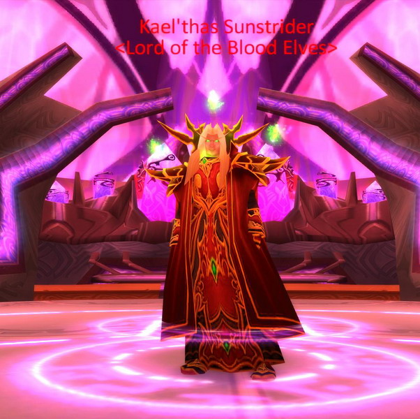 Kael'thas Sunstrider, Lord of the Blood Elves, The Sun King Kael%27thas_Sunstrider