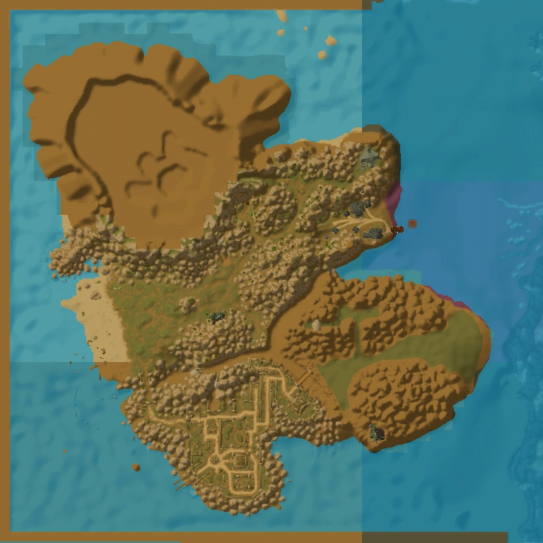 Island Of Doctor Moreau Map