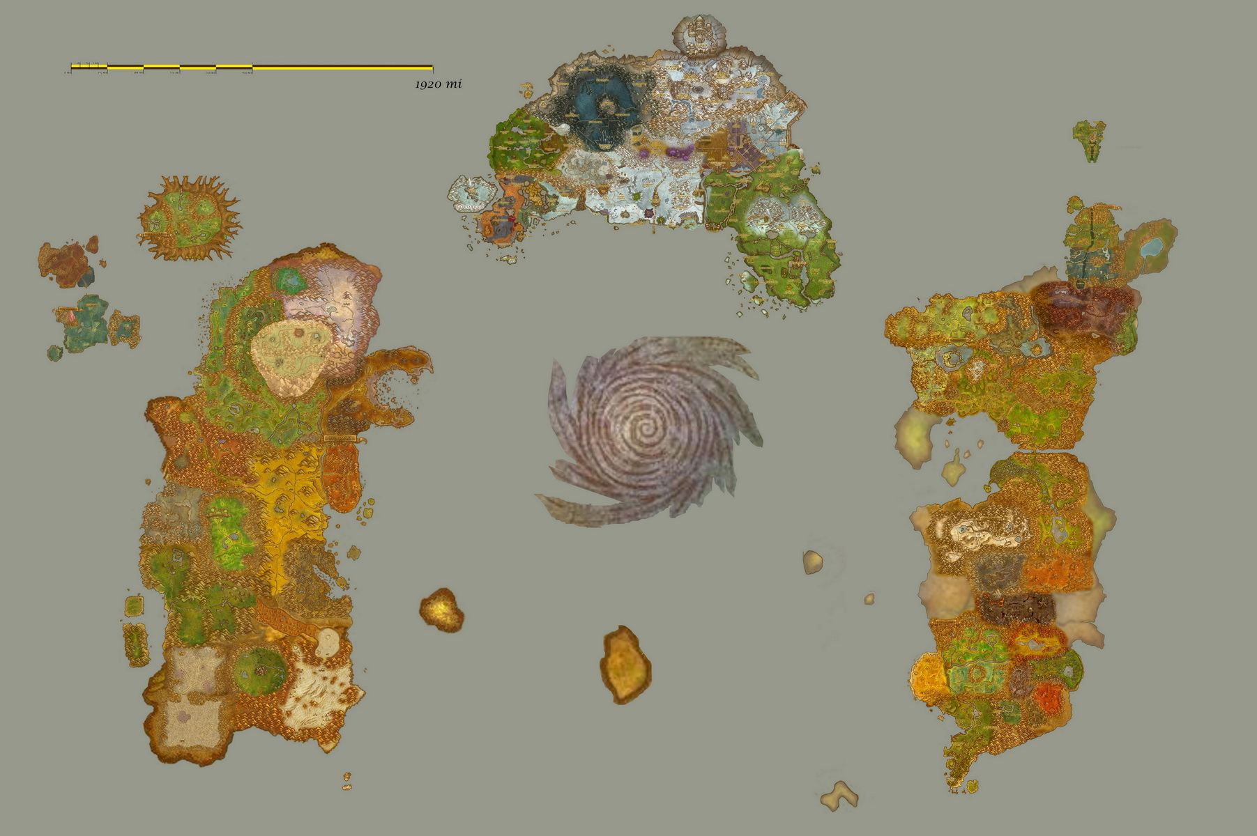 Wow atlas any good for rpg the piazza heres a fan based one which puts all the in game zone maps into a single map gumiabroncs Gallery