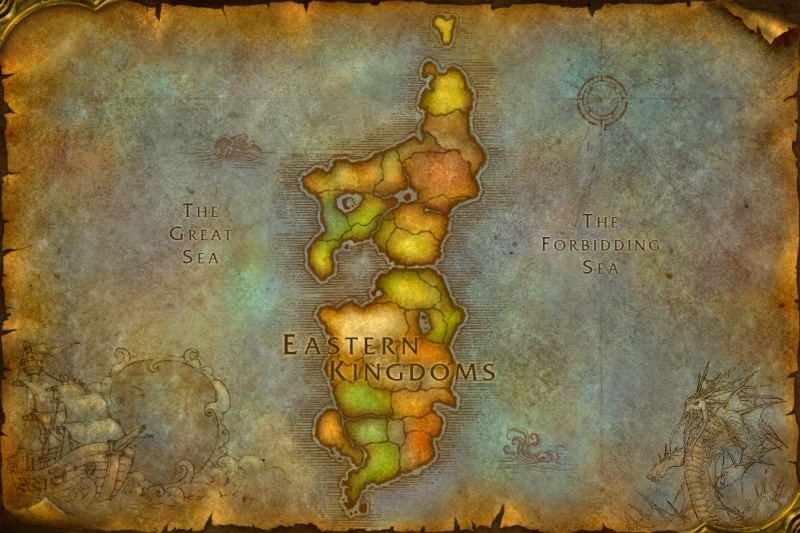 world of warcraft map kalimdor. in the Warcraft universe,