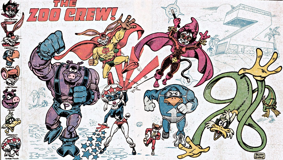 Justice crew names and pics of comic book