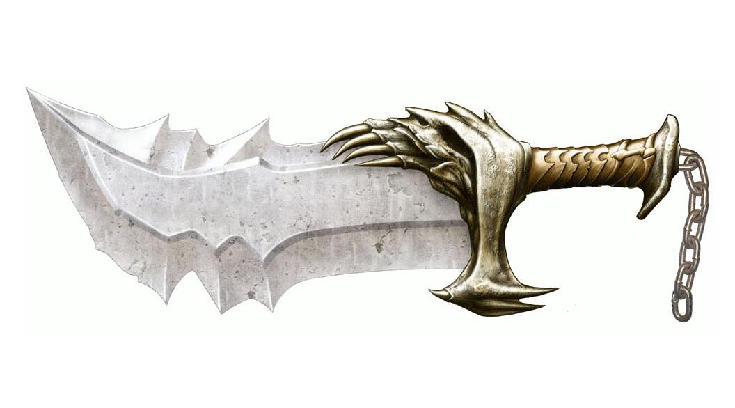 Armas De Kratos God Of War Fans Sitio