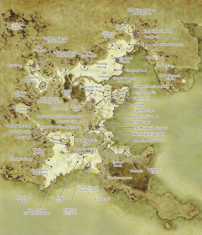 Dragons Dogma Map Dragon's Dogma Achievement Guide & Road Map   XboxAchievements.com