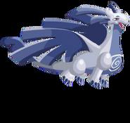 Vento dragão 3d