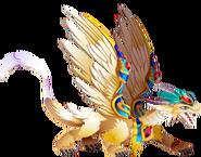 Archangel Dragon 3d